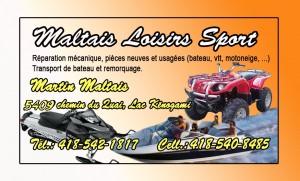 Maltais Loisirs sport
